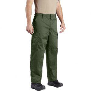 Propper BDU Hose mit Knopfverschluss aus Baumwoll-Polyester-Twill Oliv
