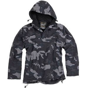 Surplus Windbreaker-Jacke Black Camo