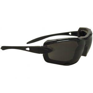 Swiss Eye Detection Sonnenbrille - Gläser in Rauchgrau + Schwarz / Gummigestell in Schwarz