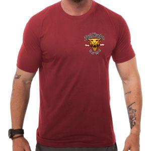 7.62 Design USMC Devil Dog T-Shirt Rot