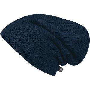 Brandit John Beanie-Mütze mit Ajour-Strick Navy