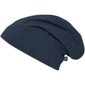 Brandit Jersey Einfarbige Mütze Navy