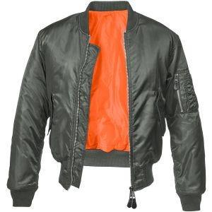 Brandit MA1 Jacke Anthracite