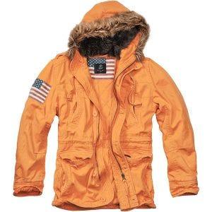 Brandit Vintage Explorer Stars & Stripes Jacke Orange