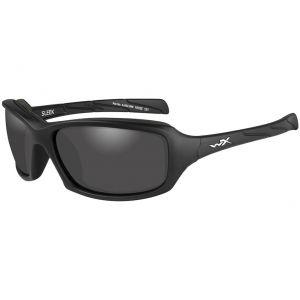 Wiley X WX Sleek Schutzbrille - Gläser in Smoke Grey / Gestell in Mattschwarz