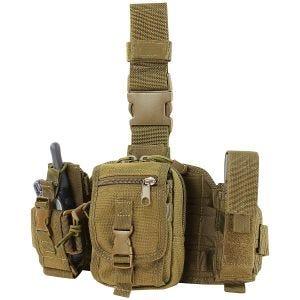 Condor Beintasche für Ausrüstung Coyote Brown