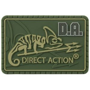 Direct Action Mittelgroßes Logo-Patch Olive Green