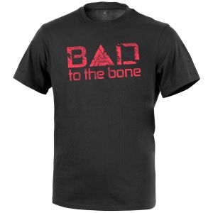 Direct Action Bad to the Bone T-shirt Schwarz