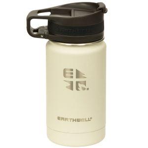Earthwell Roaster Vakuum-Trinkflasche mit Befestigungsvorrichtung 355 ml Baja Sand