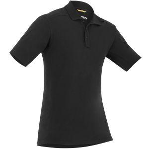 First Tactical Herren Kurzarm-Polohemd aus Baumwolle mit Stifttasche Schwarz