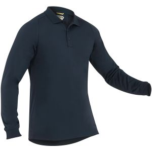 First Tactical Performance Herren Langarm-Polohemd Midnight Navy