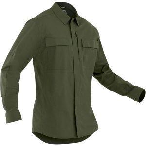 First Tactical Tactix Herren BDU-Hemd langärmelig OD Green