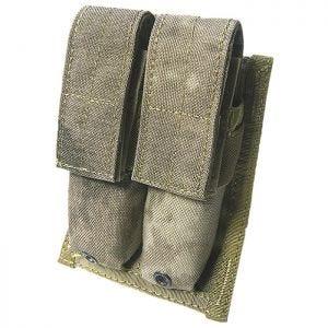 Flyye Doppel-Magazintasche für 9 mm-Kaliber MOLLE-Befestigungssystem A-TACS AU