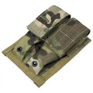 Flyye Doppel-Magazintasche für 9 mm-Kaliber MOLLE-Befestigungssystem MultiCam