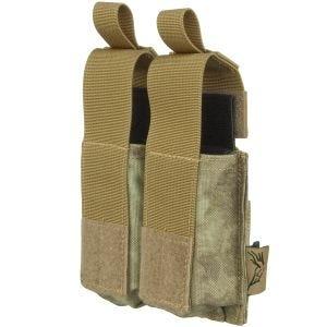 Flyye Ver. HP Doppel-Magazintasche für 9 mm-Kaliber MOLLE-Befestigungssystem A-TACS AU