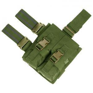 Flyye Drop Leg Beinholster-Doppel-Magazintasche für M4/M16 Olive Drab