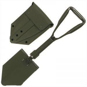 MFH Bundeswehr-Klappschaufel mit Tasche Olivgrün