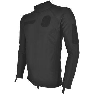 Hazard 4 Combat Base Rashguard-Shirt aus Lycra Schwarz