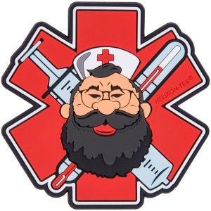 Helikon Medic Beardman Erste-Hilfe-Patch Rot