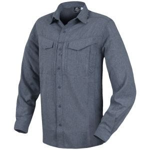 Helikon Defender Mk2 Gentleman Shirt Long Sleeve Melange Black-Grey