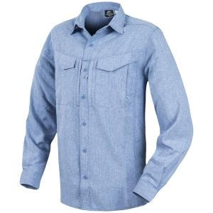 Helikon Defender Mk2 Gentleman Shirt Long Sleeve Melange Light Blue
