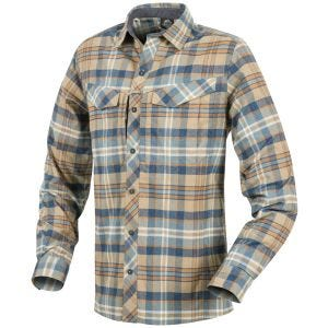 Helikon Defender Mk2 Pilgrim Shirt Long Sleeve Ginger Plaid