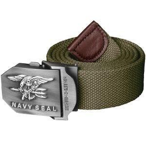 Helikon Navy Seal Gürtel aus Polyester Olive Green