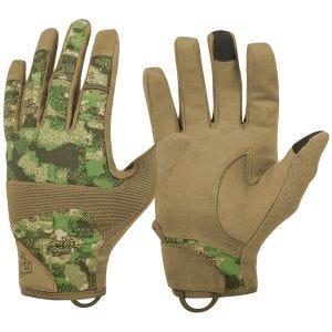Helikon Range Tactical Hard Gloves PenCott WildWood/Coyote