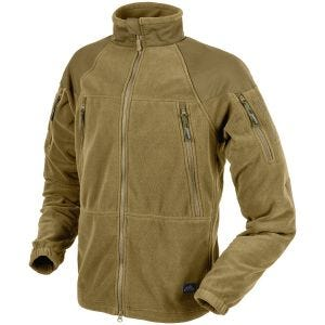 Helikon Stratus Fleece-Jacke Coyote