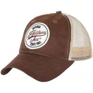 Helikon Trucker Logo Cap Cotton Twill Mud Brown