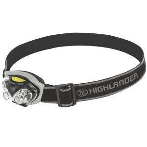 Highlander Spark 4+2 LED-Stirnlampe Schwarz / Silberfarben