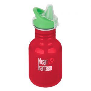 Kid Kanteen 355 ml Trinkflasche mit Sippy Cap Mineral Red