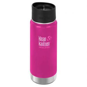 Klean Kanteen Wide Insulated 473 ml Trinkflasche mit Café Cap 2.0 Wild Orchid