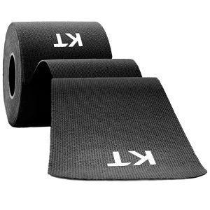 KT Tape Consumer Original Kinesio-Tape aus Baumwolle ungeschnitten Schwarz