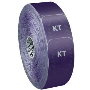 KT Tape Jumbo Pro Synthetisches Kinesio-Tape vorgeschnitten Epic Purple