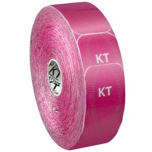 KT Tape Jumbo Pro Synthetisches Kinesio-Tape vorgeschnitten Hero Pink