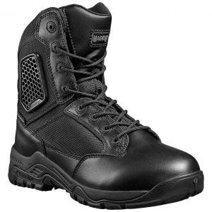 Magnum Strike Force 8.0 Wasserdichte Stiefel mit seitlichem Reißverschluss Schwarz