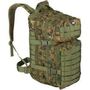 MFH Assault I Rucksack Digital Woodland