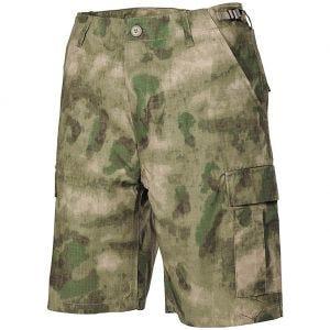 MFH US BDU Bermuda-Shorts HDT Camo FG