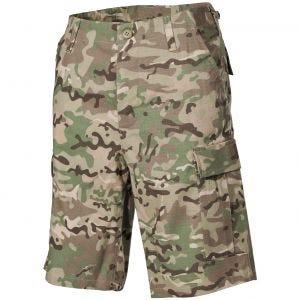 MFH US BDU Bermuda-Shorts HDT Operation Camo