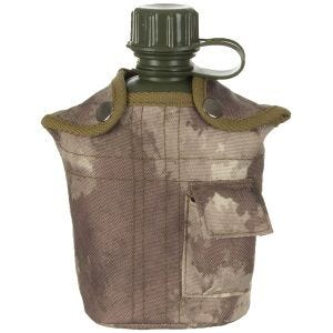 MFH US Style Feldflasche HDT Camo AU