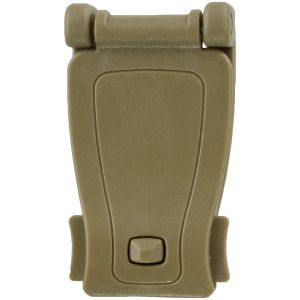 MFH MOLLE-Adapterclip aus Kunststoff Coyote Tan