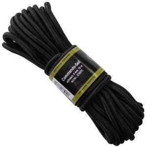 MFH Seil 9 mm Schwarz
