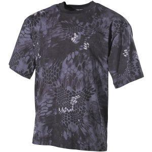 MFH T-Shirt Snake Schwarz