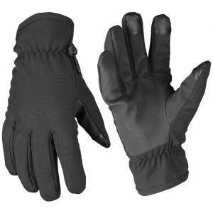 Mil-Tec Softshell-Handschuhe mit Thinsulate Schwarz