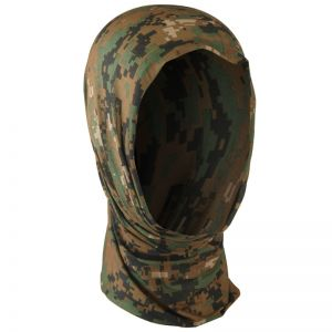 Mil-Tec Multifunktionale Kopfbedeckung Digital Woodland
