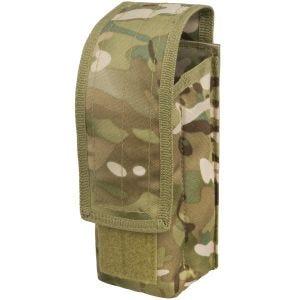 Mil-Tec AK47 Einzel-Magazintasche mit MOLLE-Befestigungssystem Multitarn