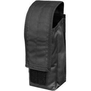 Mil-Tec AK47 Einzel-Magazintasche mit MOLLE-Befestigungssystem Schwarz