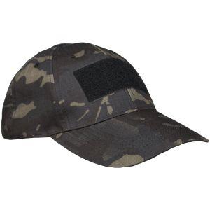 Mil-Tec Taktische Basecap Multitarn Black
