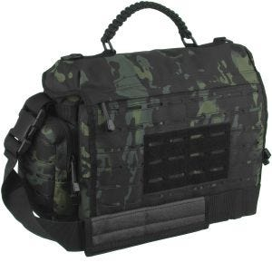 Mil-Tec Tactical Paracord Bag Large Umhängetasche Multitarn Black